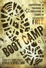 boot-camp-psd-flyer-template