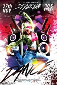 dance-psd-flyer-template
