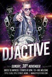 dj-active-psd-flyer-template