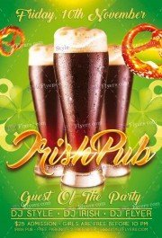 irish-pub-psd-flyer-template