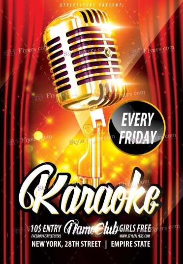 karaoke-psd-flyer-template-3010