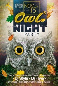 owls-night-party-psd-flyer-template