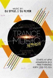 trance-music-session-psd-flyer-template