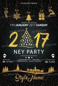 2017-ney-party-psd-flyer-template