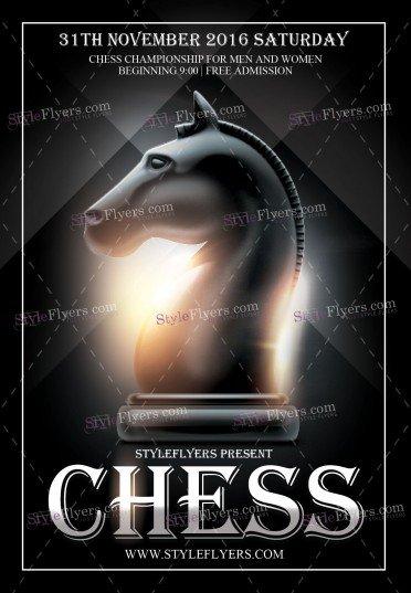 chess-psd-flyer-template