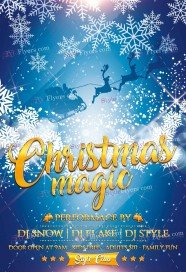 christmas-magic-psd-flyer-template