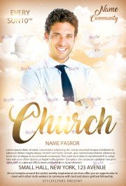 church-psd-flyer-template