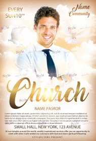 church-psd-flyer-template