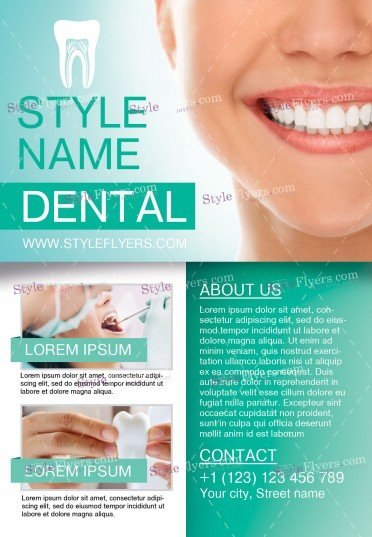 dental-psd-flyer-template