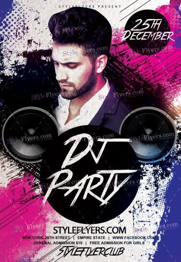 dj-party-psd-flyer-template