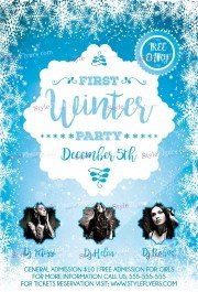 first-winter-party-psd-flyer-template