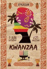 kwanzaa-psd-flyer-template