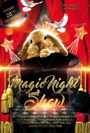 magic-night-show-psd-flyer-template