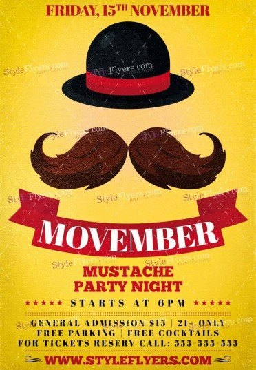 movember-psd-flyer-template