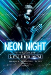neon-night-psd-flyer-template