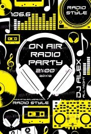 on-air-radio-party-psd-flyer-template