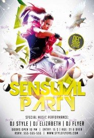 sensual-party-psd-flyer-template