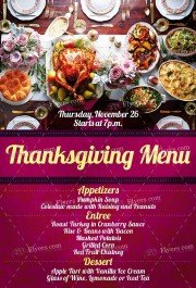 thankgiving-menu-psd-flyer-template