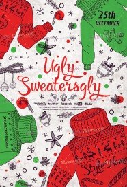 ugly-sweaters-psd-flyer-template