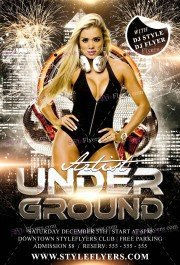 underground-artist-psd-flyer-template