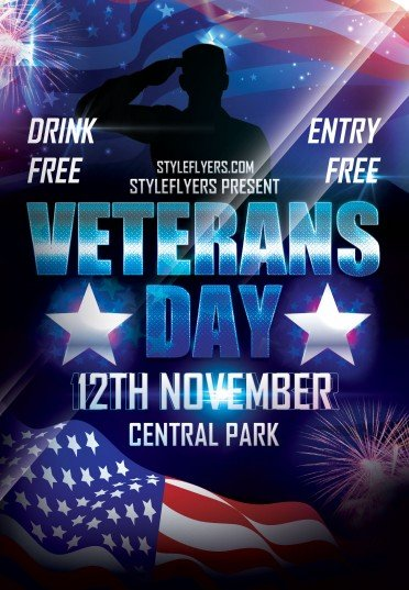 veterans day flyer 0511