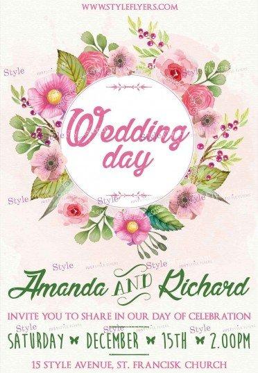 wedding-psd-flyer-template