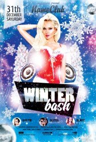 winter-bash-psd-flyer-template
