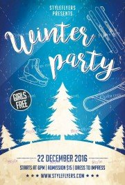 winter-party-psd-flyer-template