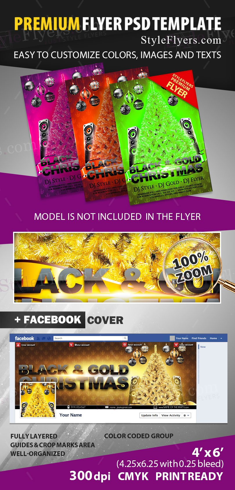 preview_black_and_gold_christmas_party_psd_flyer_template