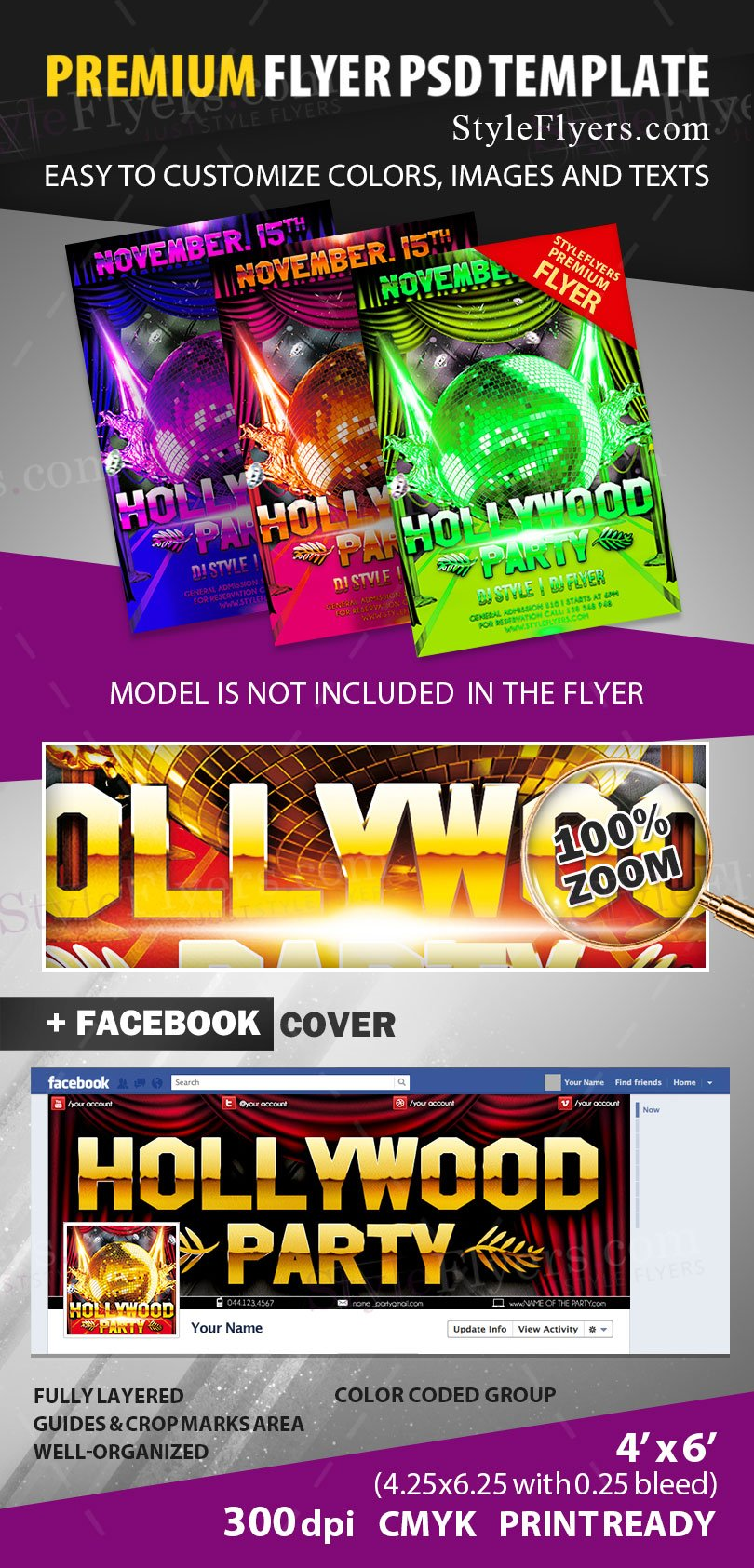 preview_hollywood_party_psd_flyer_template
