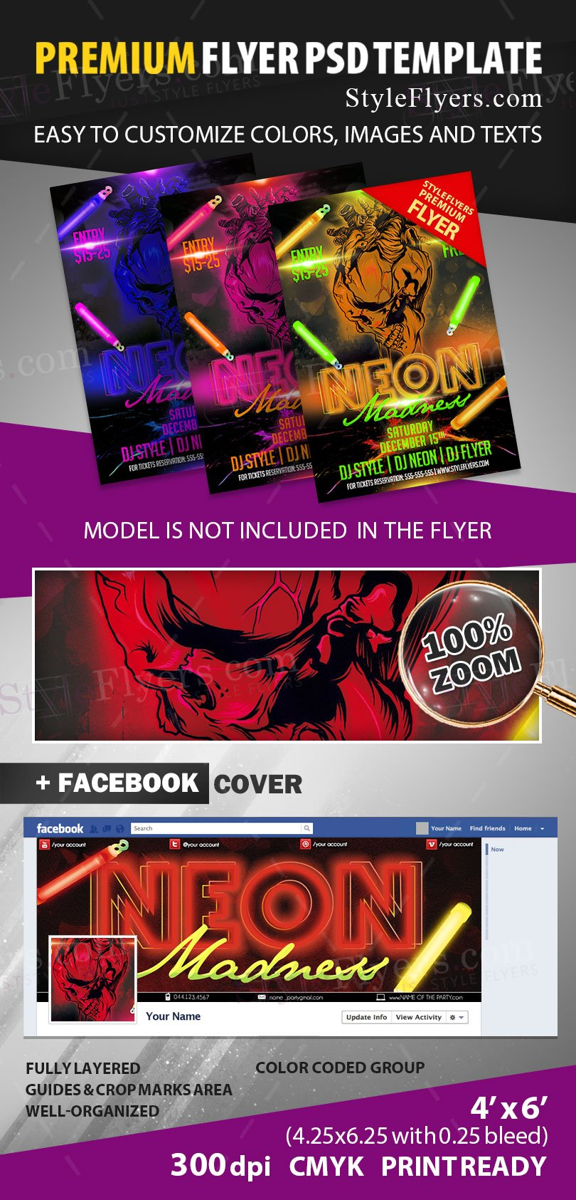 preview_neon_madness_psd_flyer_template