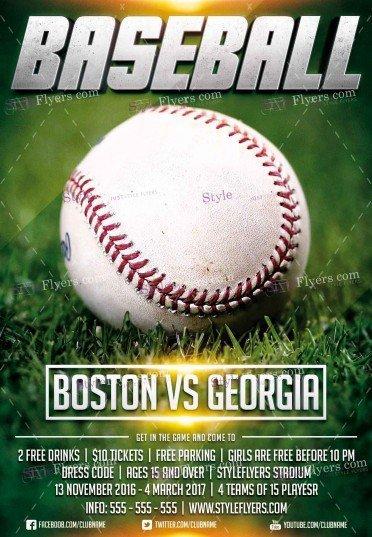 baseball-league-psd-flyer-template