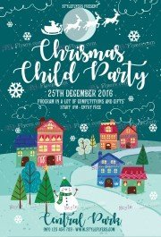 chrismas-child-party-psd-flyer-template