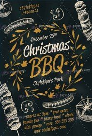 christmas-bbq-psd-flyer-template