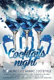 cocktails-night-psd-flyer-template
