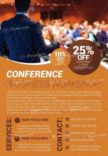 conference-psd-flyer-template