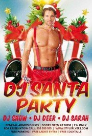 dj-party-santa-psd-flyer-template