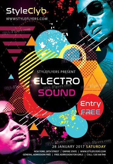 electro-sound-psd-flyer-template