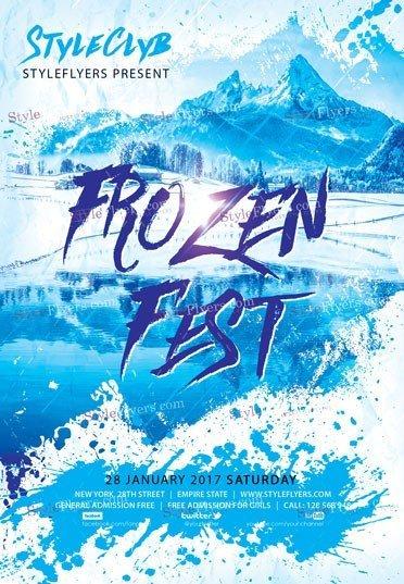 frozen-fest-psd-flyer-template