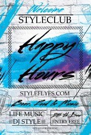 happy-hour-psd-flyer-template