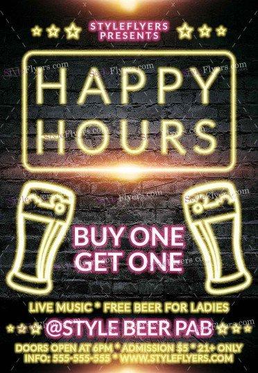 happy-hours-beer-psd-flyer-template