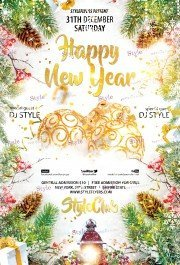 happy-new-year-psd-flyer-template