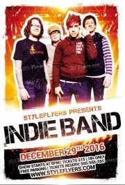 indie-band-psd-flyer-template