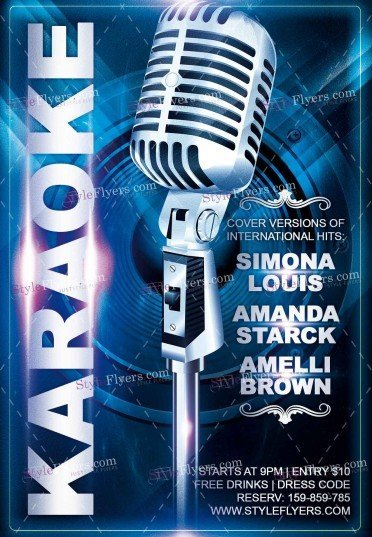 karaoke-psd-flyer-template