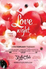 love-night-psd-flyer-template