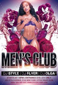 mens-club-psd-flyer-template