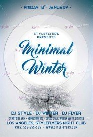 minimal-winter-psd-flyer-template