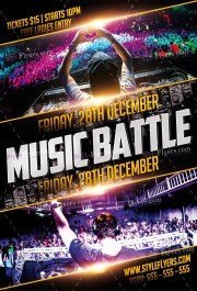 music-battle-psd-flyer-template