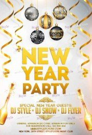 new-year-party-psd-flyer-template