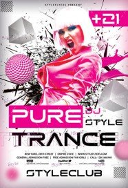 pure-trance-psd-flyer-template